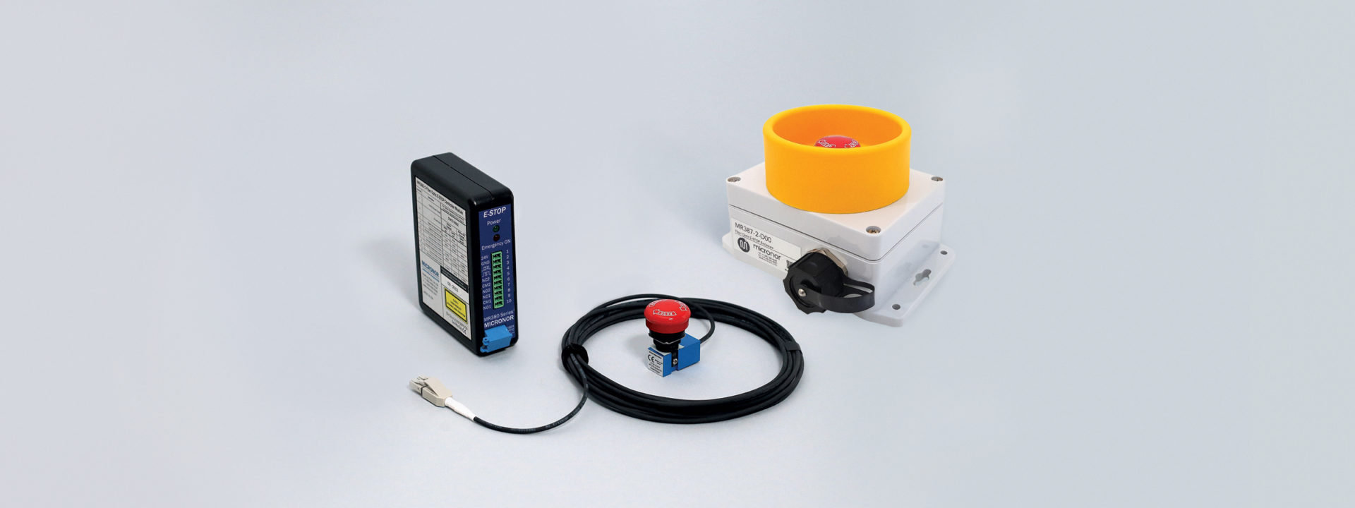 MR380 Series Fiber Optic Emergency Stop