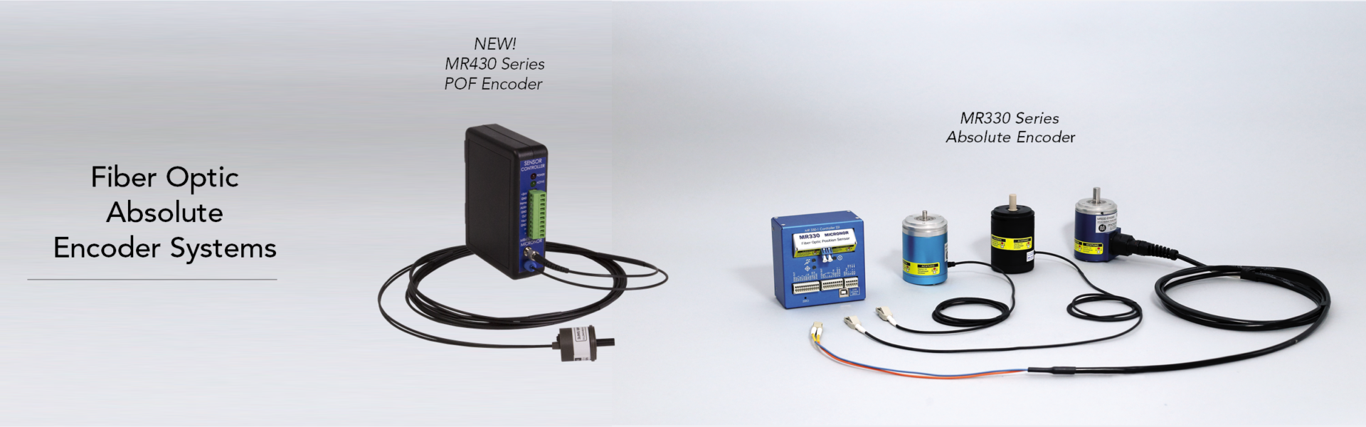 Fiber Optic Absolute Rotary and Linear Encoders and Position Sensors
