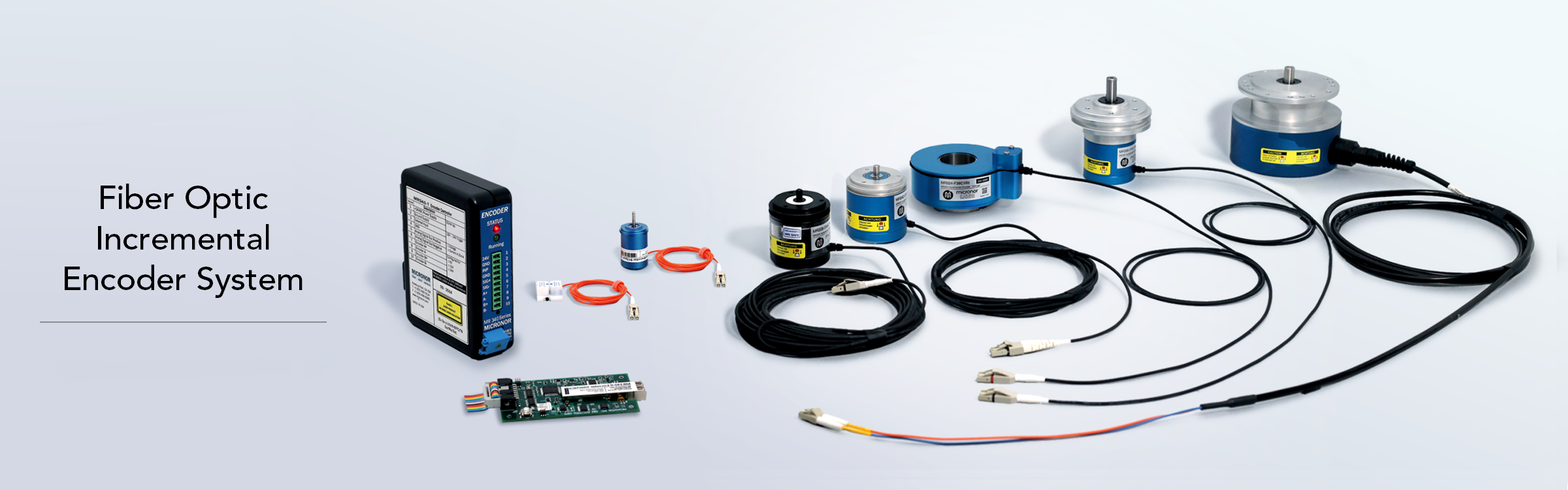 MR340 Series Fiber Optic Incremental Encoder System