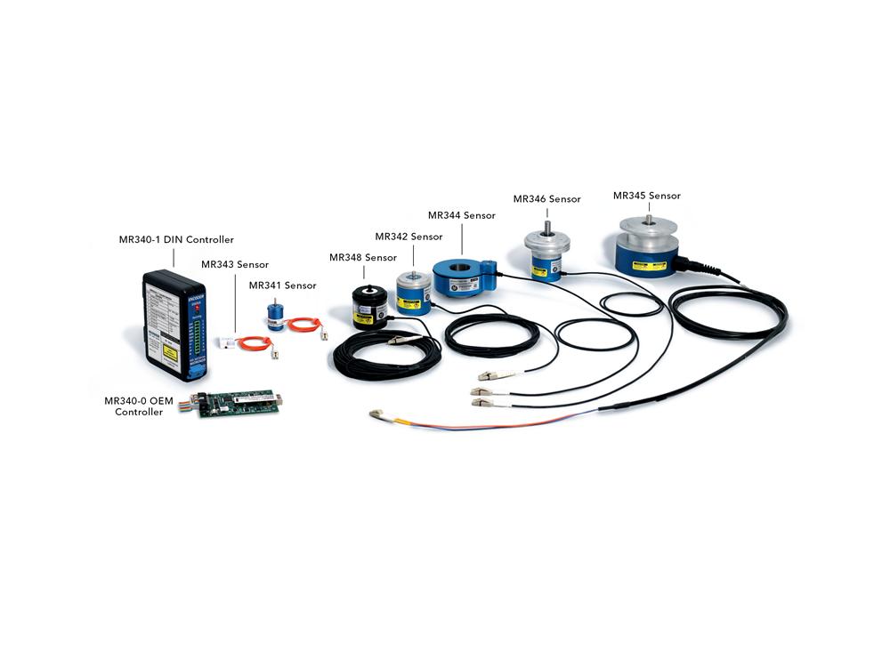 MR340 series Fiber Optic Incremental Encoders
