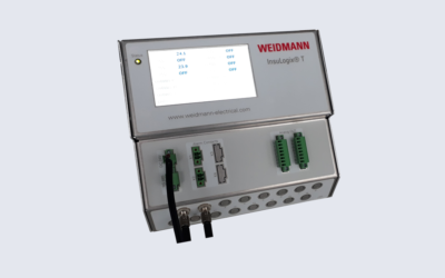 FOTEMP-T2 Multichannel DIN Rail Mount FO Temperature Sensor Signal Conditioner (formerly INSULOGIX T2)